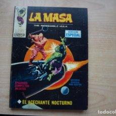 Cómics: LA MASA - NÚMERO 11 - FORMATO TACO - .MUY BIEN CONSERVADO - VERTICE. Lote 152578318