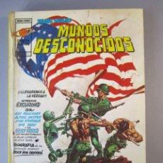 Cómics: ANTOLOGIA DEL COMIC (1977, VERTICE) 2 · 1977 · MUNDOS DESCONOCIDOS. Lote 152599522