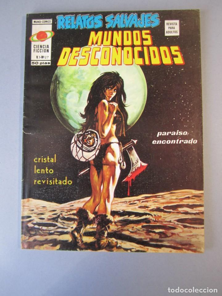 RELATOS SALVAJES (1974, VERTICE) 27 · II-1976 · CRISTAL LENTO REVISADO (Tebeos y Comics - Vértice - Relatos Salvajes)