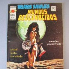 Cómics: RELATOS SALVAJES (1974, VERTICE) 27 · II-1976 · CRISTAL LENTO REVISADO. Lote 152722634