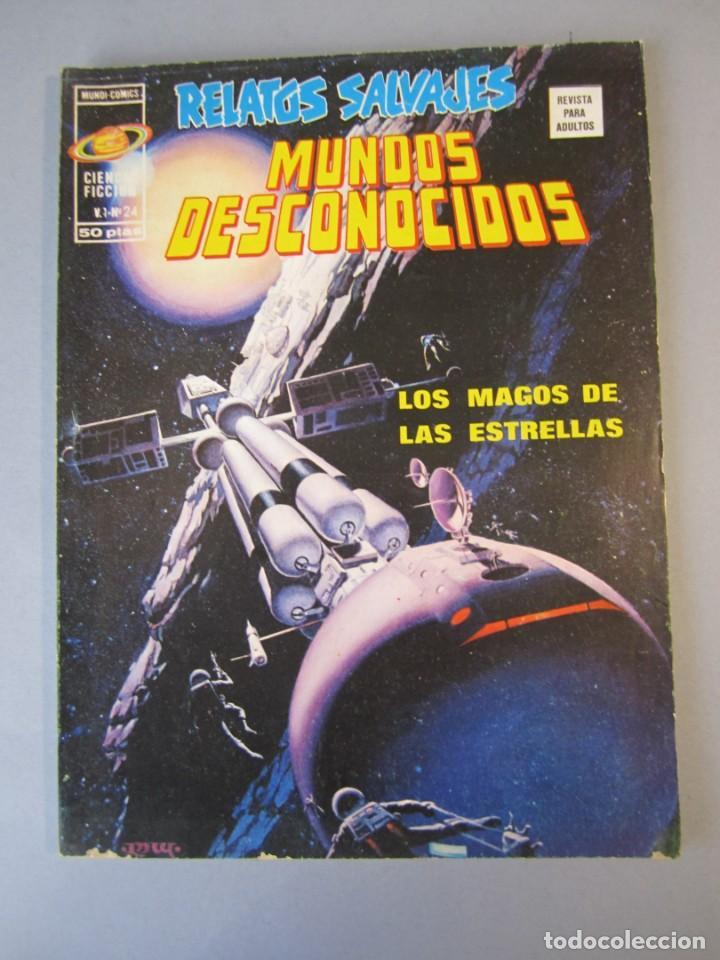 RELATOS SALVAJES (1974, VERTICE) 24 · 1976 · LOS MAGOS DE LAS ESTRELLAS (Tebeos y Comics - Vértice - Relatos Salvajes)