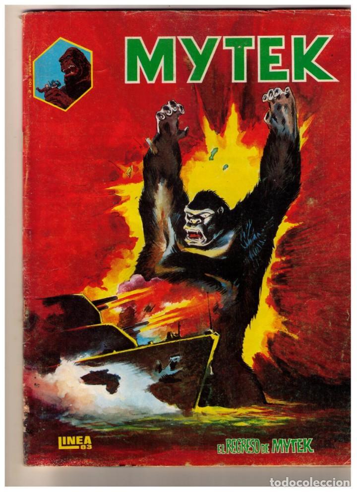 MYTEK EL PODEROSO Nº 2 · EL REGRESO DE MYTEK, (SURCO LINEA 83) (Tebeos y Comics - Vértice - Surco / Mundi-Comic)