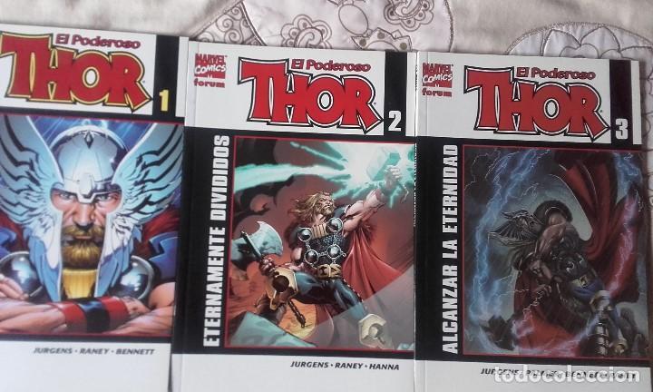6 TOMOS DE THOR ETAPA JURGENS (Tebeos y Comics - Vértice - Thor)