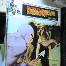 Cómics: EL HOMBRE ENMASCARADO VOL.I Nº 10. VÉRTICE 1974. LEE FALK & SY BARRY.. Lote 153721710