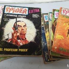Cómics: SPIDER EXTRA Nº 4 8 10 12 15 17 18 19 Y 21 ¡ LOTE 9 NUMEROS / VÉRTICE TACO. Lote 153787457