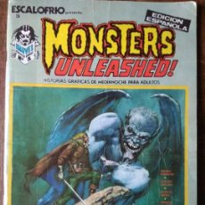 Cómics: MONSTERS UNLEASHED! Nº 1 - ESCALOFRIO PRESENTA 3- VERTICE -. Lote 153986334