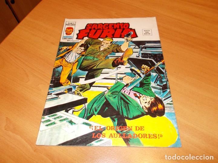SARGENTO FURIA V.2 Nº 23 (Tebeos y Comics - Vértice - Furia)