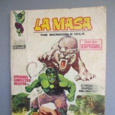 Cómics: HULK (1970, VERTICE) -LA MASA- 4 · 1970 · LA TIERRA PERDIDA DE KAZAR. Lote 154093278