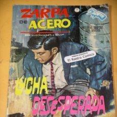 Cómics: ZARPA DE ACERO Nº 10, GRAPA, 10 PTAS, ED. VÉRTICE, AÑO 1964, B8. Lote 154324754