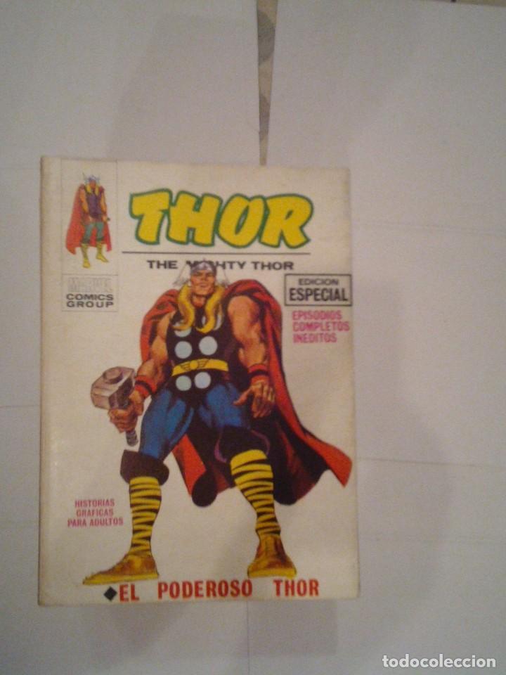 THOR - VERTICE - VOLUMEN 1 - COMPLETA - 42 NUMEROS - MUY BUEN ESTADO - GORBAUD (Tebeos y Comics - Vértice - Thor)