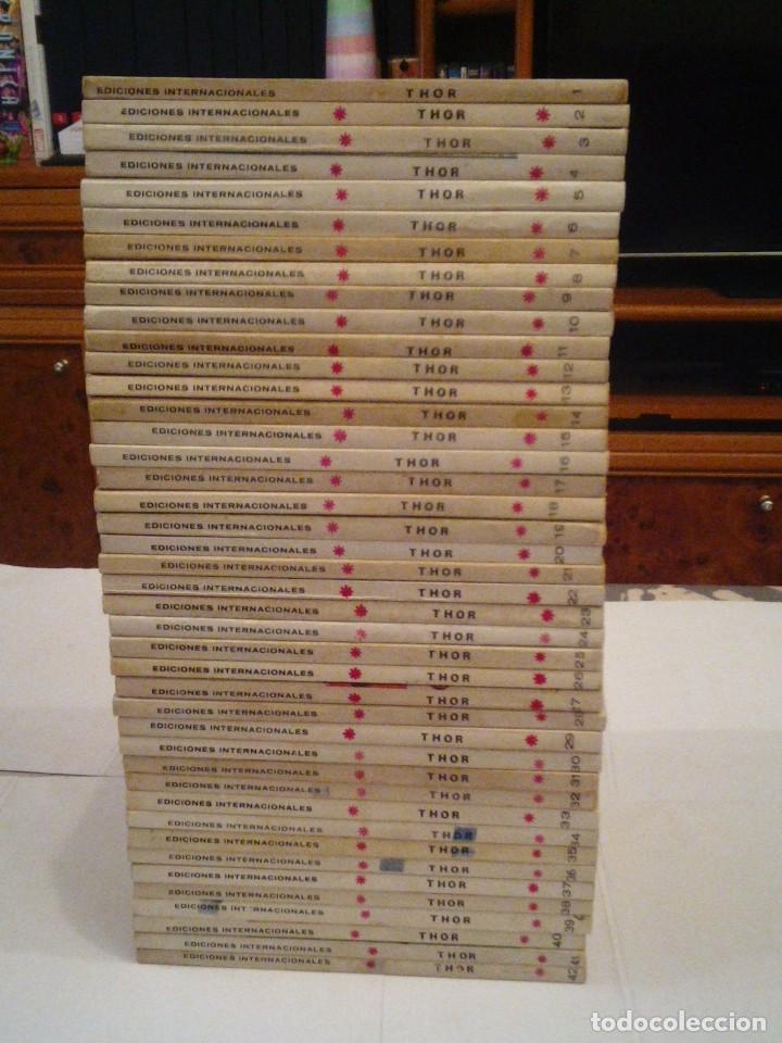 Cómics: THOR - VERTICE - VOLUMEN 1 - COMPLETA - 42 NUMEROS - MUY BUEN ESTADO - GORBAUD - Foto 2 - 154407206