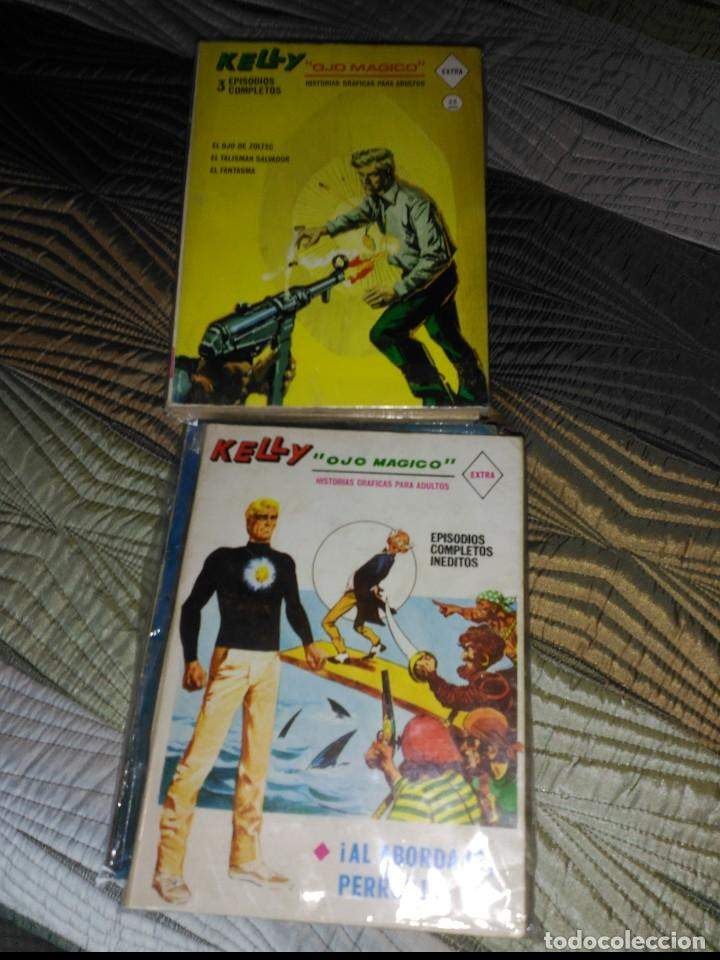 KELLY OJO MÁGICO COMPLETA A FALTA DEL Nº 4 (Tebeos y Comics - Vértice - Fleetway)