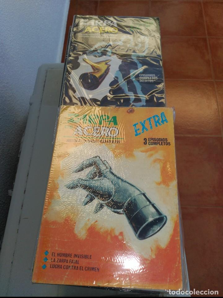 ZARPA DE ACERO COMPLETA EN BUEN ESTADO VERTICE (Tebeos y Comics - Vértice - Fleetway)
