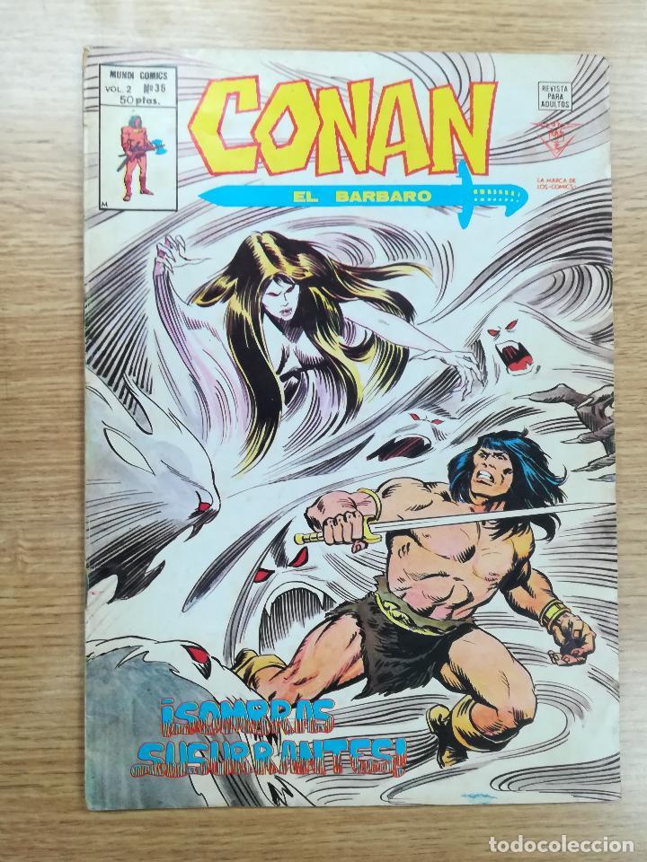CONAN EL BARBARO VOL 2 #36 (Tebeos y Comics - Vértice - Conan)