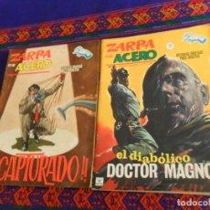 Cómics: VÉRTICE GRAPA BITONO ZARPA DE ACERO NºS 7 Y 16. 1965. 10 PTS. . Lote 154643650