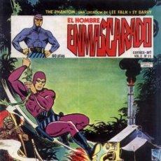 Cómics: EL HOMBRE ENMASCARADO - V-2 - Nº 40 -LA MARCA DEL FANTASMA-1981-RARO-BUENO-LEAN-0462. Lote 154688254