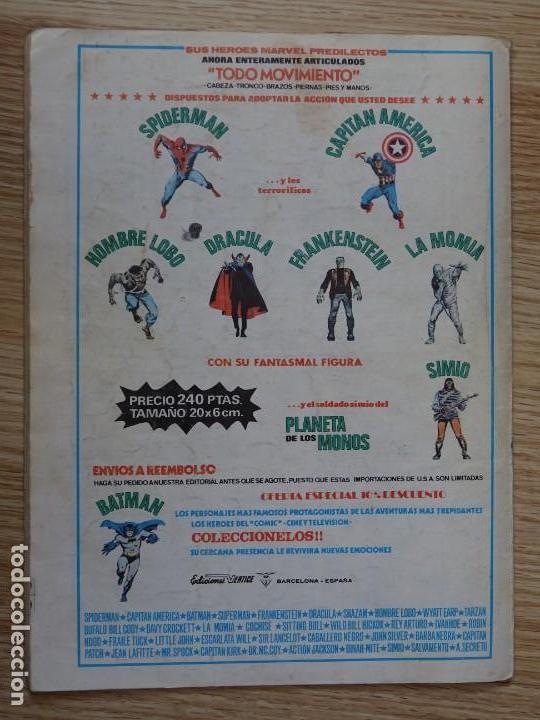 Cómics: Sargento Furia vol.2 nº 18 Vértice Mundi comics Furia pelea solo Marvel group V.2 año 1983 - Foto 2 - 154720122
