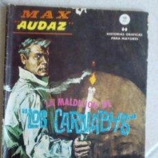 Cómics: MAX AUDAZ Nº 12 - LA MALDICIÓN DE LOS CARNABYS - VERTICE GRAPA. Lote 154770194