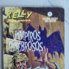 Cómics: KELLY OJO MÁGICO Nº 6 - VAMPIROS TENEBROSOS - VÉRTICE GRAPA .. Lote 154770522