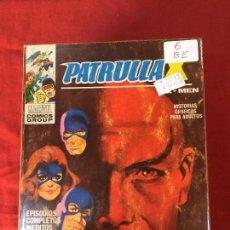 Cómics: VERTICE PATRULLA X NUMERO 6 BUEN ESTADO REF.T9. Lote 155331814