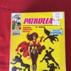 Cómics: VERTICE PATRULLA X NUMERO 22 BUEN ESTADO REF.T9. Lote 155332010
