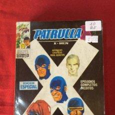 Cómics: VERTICE PATRULLA X NUMERO 10 BUEN ESTADO REF.T9. Lote 155332062