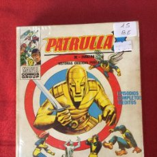 Cómics: VERTICE PATRULLA X NUMERO 15 BUEN ESTADO REF.T9. Lote 155332110