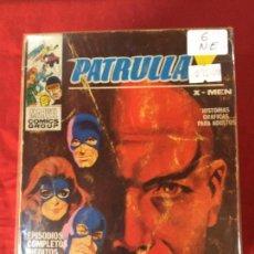 Cómics: VERTICE PATRULLA X NUMERO 6 NORMAL ESTADO REF.T8. Lote 155333014