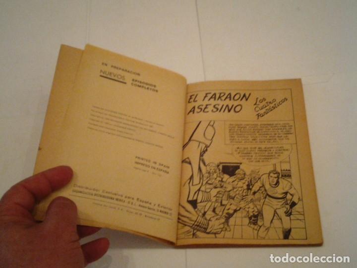 Cómics: LOS 4 FANTASTICOS - VERTICE - VOLUMEN 1 - NUMERO 10 - BUEN ESTADO - CJ 102 - GORBAUD - Foto 3 - 155333370