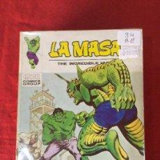 Cómics: VERTICE LA MASA NUMERO 34 BUEN ESTADO REF.T8. Lote 155333530
