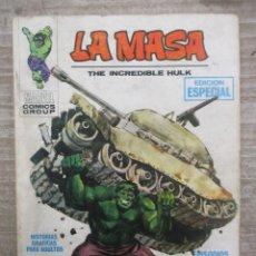 Cómics: COLECCION COMPLETA LA MASA - HULK - 35 NUMEROS - VERTICE VOLUMEN 1 - TACO. Lote 155359062