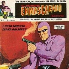Cómics: EL HOMBRE ENMASCARADO-VOL. 1- Nº 17 -LOS MALVADOS-FALK- SY BARRY-1975-BUENO-DIFÍCIL-0513. Lote 155366141