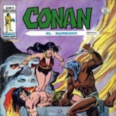 Fumetti: CONAN EL BÁRBARO-V-2- Nº 31- NOCHE DE COLMILLOS Y GARRAS- GRAN J. BUSCEMA-1979-DIFÍCIL-REGULAR-0515. Lote 155370565