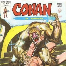 Fumetti: CONAN EL BÁRBARO-V-2- Nº 37 -¡DEMONIO DE LA NOCHE!-1980-J. BUSCEMA-MUY DIFICIL-BUENO-LEAN-0516. Lote 155371929