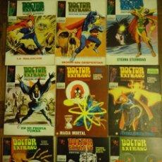 Cómics: 9 VOLUMENES VERTICE, MARVEL COMICS GROUP, DOCTOR EXTRAÑO, AÑOS 70.. Lote 155421790