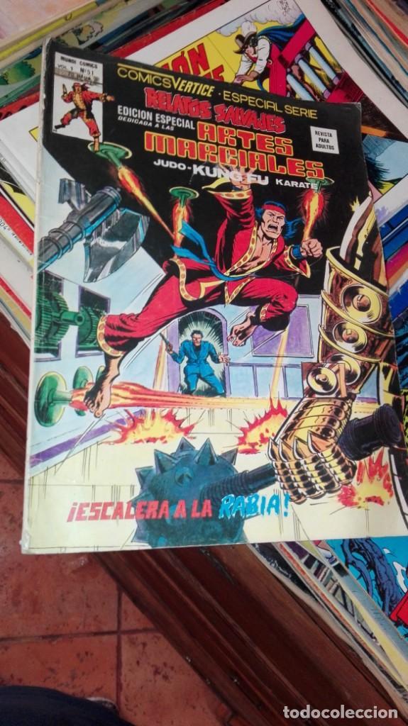RELATOS SALVAJES ARTES MARCIALES Nº 51.ESCALERA A LA RABIA (Tebeos y Comics - Vértice - Relatos Salvajes)