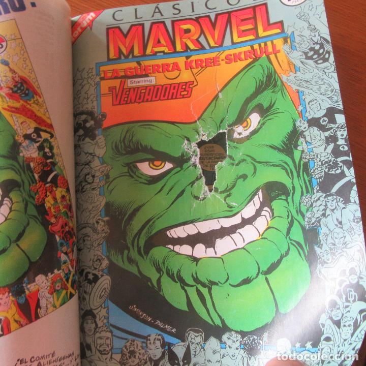 Cómics: Lote comics encuadernados clasicos marvel vengadores nº1 - 11 - Foto 4 - 155697278
