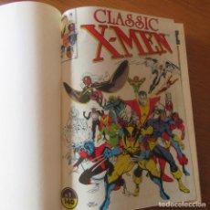 Cómics: LOTE COMICS ENCUADERNADOS CLASSIC X-MEN Nº1-17. Lote 155698178