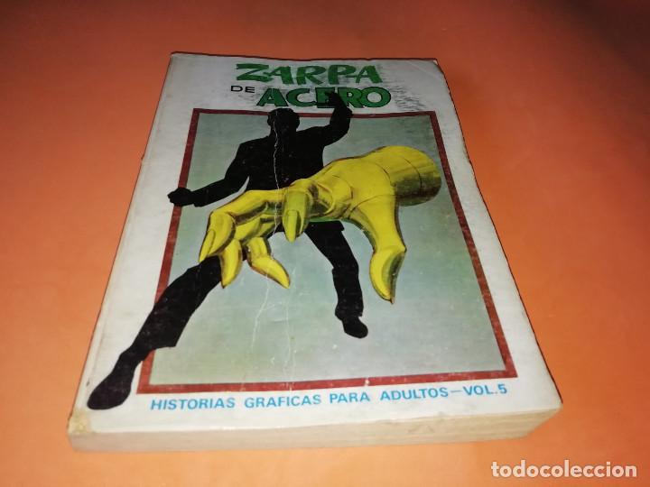 ZARPA DE ACERO VOLUMEN 5.EDICION ESPECIAL. VERTICE . TACO. 1972. BUEN ESTADO. (Tebeos y Comics - Vértice - Otros)