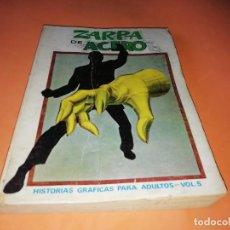 Cómics: ZARPA DE ACERO VOLUMEN 5.EDICION ESPECIAL. VERTICE . TACO. 1972. BUEN ESTADO.. Lote 155818434