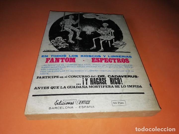Cómics: ZARPA DE ACERO VOLUMEN 5.EDICION ESPECIAL. VERTICE . TACO. 1972. BUEN ESTADO. - Foto 2 - 155818434
