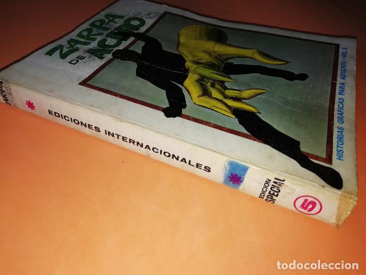 Cómics: ZARPA DE ACERO VOLUMEN 5.EDICION ESPECIAL. VERTICE . TACO. 1972. BUEN ESTADO. - Foto 3 - 155818434