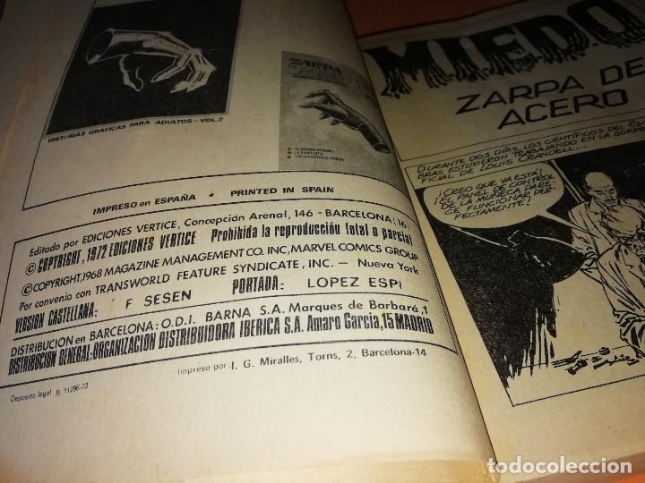 Cómics: ZARPA DE ACERO VOLUMEN 5.EDICION ESPECIAL. VERTICE . TACO. 1972. BUEN ESTADO. - Foto 6 - 155818434
