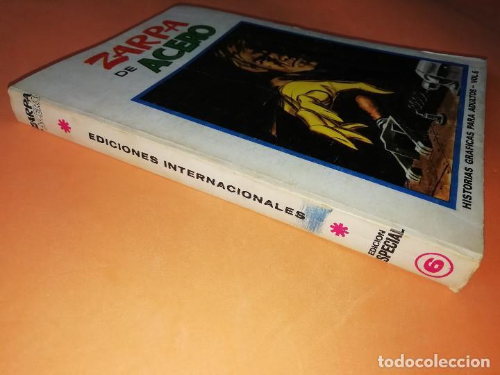 Cómics: ZARPA DE ACERO . VOLUMEN 6 . EDICION ESPECIAL. VERTICE. TACO . 1973. BUEN ESTADO - Foto 3 - 155819942