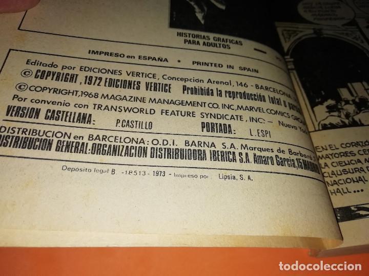 Cómics: ZARPA DE ACERO . VOLUMEN 6 . EDICION ESPECIAL. VERTICE. TACO . 1973. BUEN ESTADO - Foto 6 - 155819942