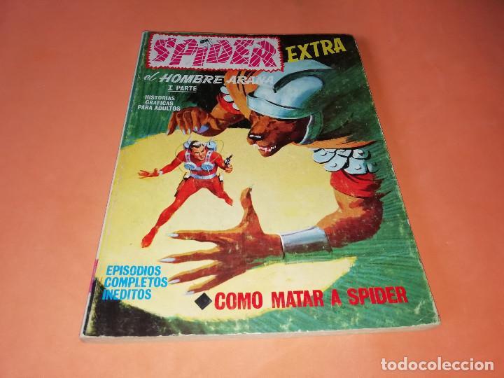 SPIDER. EXTRA. COMO MATAR A SPIDER . Nº 25. VERTICE .TACO . 1969. BUEN ESTADO (Tebeos y Comics - Vértice - Otros)