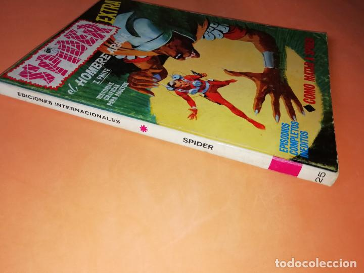 Cómics: SPIDER. EXTRA. COMO MATAR A SPIDER . Nº 25. VERTICE .TACO . 1969. BUEN ESTADO - Foto 5 - 155821194