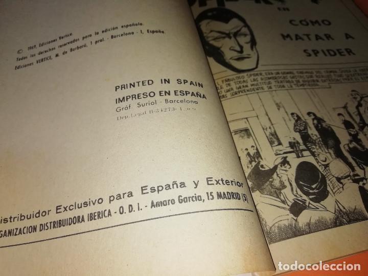 Cómics: SPIDER. EXTRA. COMO MATAR A SPIDER . Nº 25. VERTICE .TACO . 1969. BUEN ESTADO - Foto 6 - 155821194