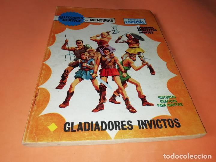 GLADIADORES INVICTOS. SELECCIONES VERTICE. 59. VERTICE TACO. 1969. BUEN ESTADO. (Tebeos y Comics - Vértice - Otros)