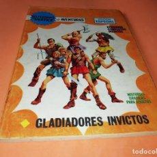 Cómics: GLADIADORES INVICTOS. SELECCIONES VERTICE. 59. VERTICE TACO. 1969. BUEN ESTADO.. Lote 155823950